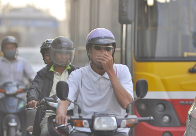 Air pollution: a difficult problem of urban in Vietnam